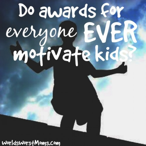 Do awards for everyone ever motivate kids