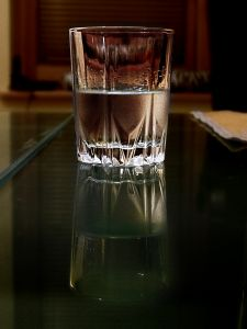 Vodka glass