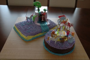 Fairyland Playmobil cake