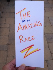 How to make the clues for a kids' Not-So-Amazing Race