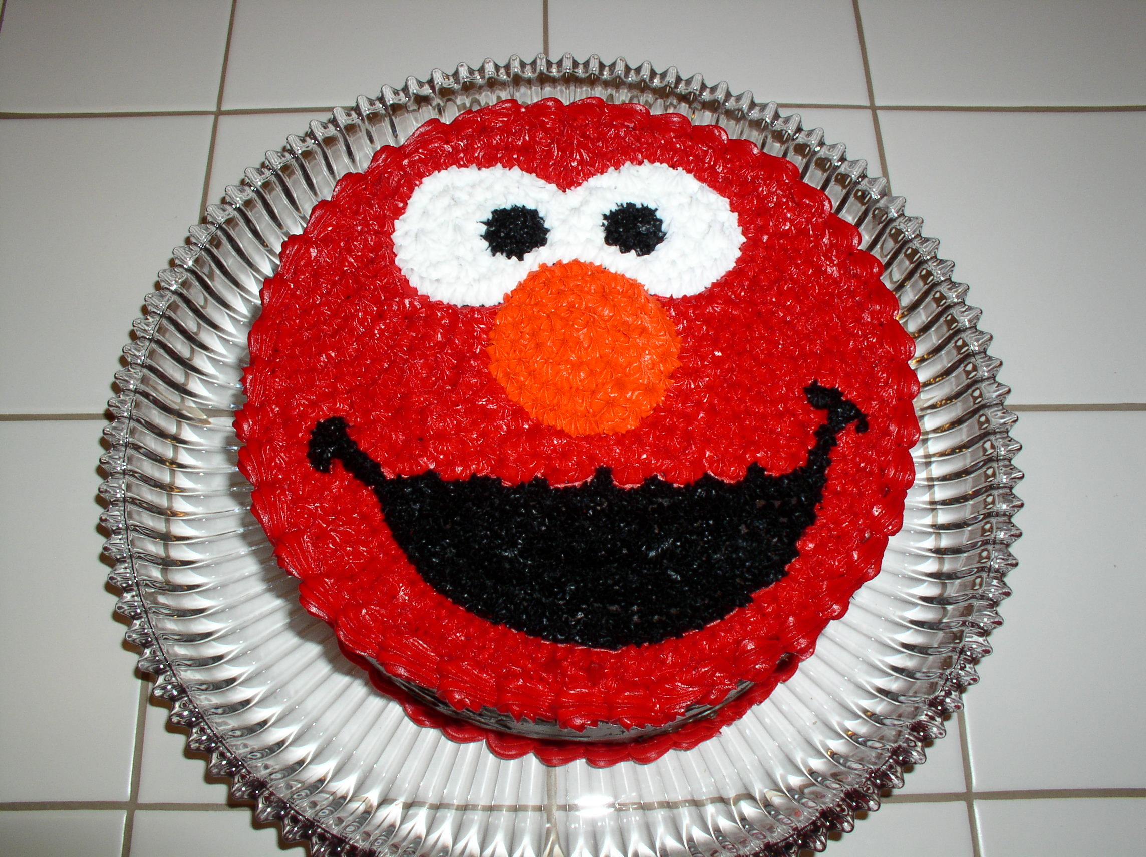 Pin Round Elmo Cake Ideas And Designs Cake on Pinterest