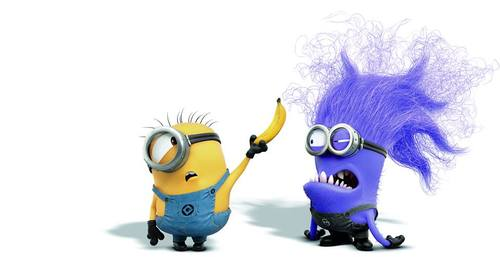 Minions -- yellow and purple