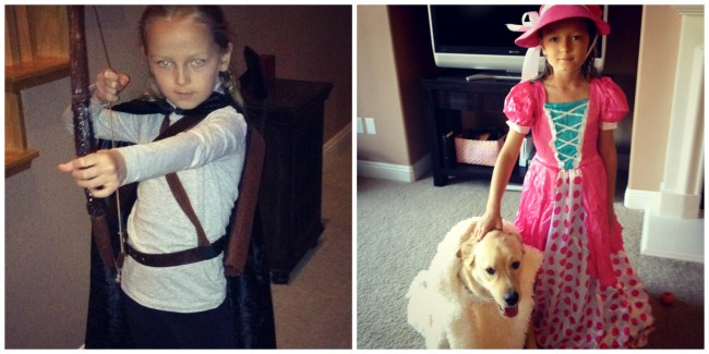 Legolas and Little Bo Peep kids costumes