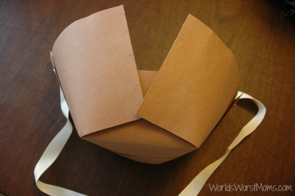 How to make a paper Pilgrim Hat
