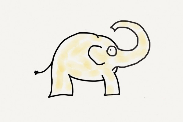"Elephant tattoo with bad yellow removal - ""What to think about before getting a tattoo"""