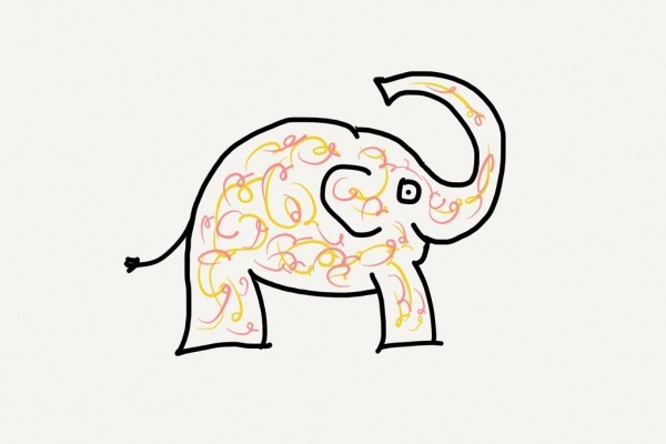"Pink and Yellow Elephant Tattoo - ""What to think about before getting a tattoo"""
