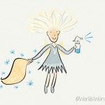 Spritzy the Counter Wiper Fairy
