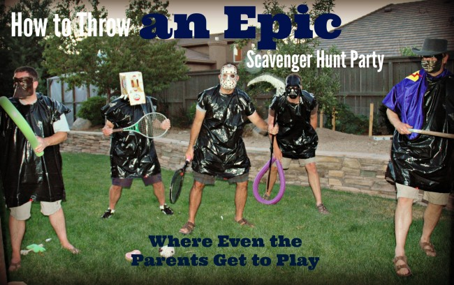 How to throw an epic scavenger hunt party