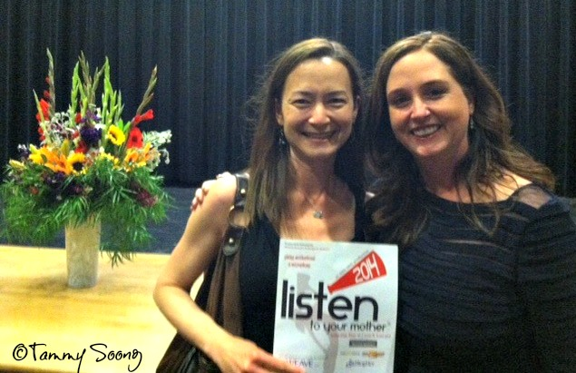 Listen to Your Mother Sacramento -- Tammy Soong and Jeanne Alongi