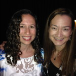Kristin Shaw and Tammy Soong at BlogHer